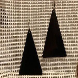 Jewelry - Fun acrylic triangle earrings
